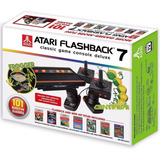 Vídeo Game Atari Flashback 7 Com 101 Jogos E 4 Controles