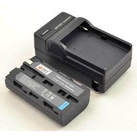 Bateria Np-f570 P Iluminador De Led Cn160 Cn126 + Carregador