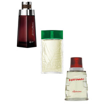 Kit Perfumes Masculinos Boticário Malbec + Arbo + Portinari