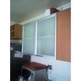 Puertas De Aluminio Y Vidrio Para Cocinas Empotradas