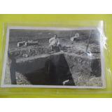 Antigua Fotografia Foto Excavacion Terreno Tierra 1925