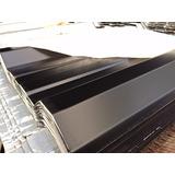 Chapa Para Techo Color Negra C-25 | Trapezoidal X 4 Metros