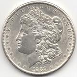 Estados Unidos 1 Dólar 1889, Plata Ley 0,900, 26,69 G.