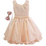 Vestido Festa Infantil Floral Luxo 1 A 16 Ano Preço De Custo