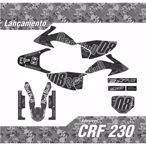 Kit Adesivo Crf 230 Red Bull ... Lançamento