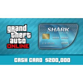 Gta V Pc Online Tiger Shark Cash Card - 200.000 Original