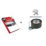 Kit Correia Dentada + Tensor Peugeot 206 207 Hoggar 1.4 8v
