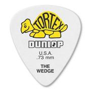 Kit 12 Palhetas Dunlop Tortex Wedge 0.73mm Usa 424r.73