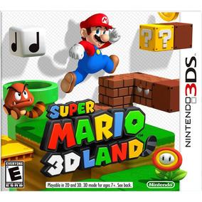 Super Mario 3d Land Fisico Nintendo 3ds New Full Gamer