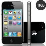 Apple Iphone 4s 16gb Preto Original Com Garantia Bom Estado