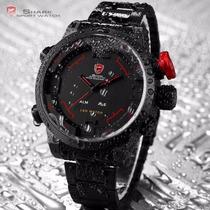 Reloj Para Hombre Militar-deportivo-elegante Digital Shark