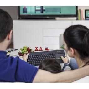 Teclado Logitech K400 Plus Com Touchpad (mouse Embutido)
