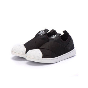 08f01244a02 Tênis adidas Slip On Couro  Elástico 100% Original Unissex