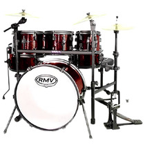 Bateria Rmv Rock Up (bumbo 20 , Tons 08 /10 /12 , Surdo 14 )