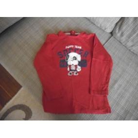 Camiseta Menino Manga Longa 18-24 Meses