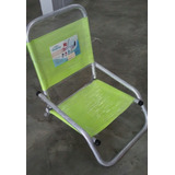 Silla Playera Plegable