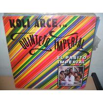 Koli Arce Y Su Quinteto Imperial Lp Vinilo Promo Cumbia 1990