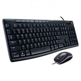 Teclado Y Mouse Logitech Media Combo Mk200.
