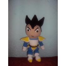 Muñecos Tejidos A Crochet O Gancho Goku Y Vegueta