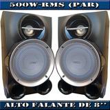 Caixa De Som Original Philips Fwm663 (500w Rms) Par - 3 Ohms