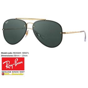 b38bb60865 Gafas Rayban Rb3584n Blaze Marco Dorado 58mm Originales