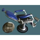 Cadeira De Barbeiro Antiga Reformada Nova Ferrante