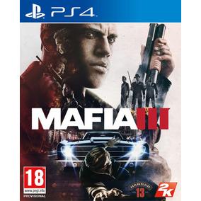 Mafia 3 Juego Original Ps4 Físico Original Sellado Factura
