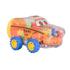 Juguete Armable Tipo Carro Taxi