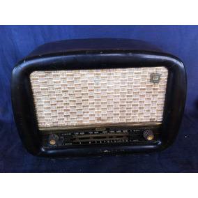 Radio Semp Rc 250 Antigo De Madeira Frete Grátis