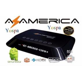 Fta Azamerica S-2010 Android 4k S2010 Acm V316 Hdmi Regalo