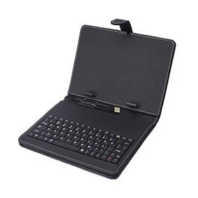 Teclado Portátil Usb P/ Tablet Com Capa T-8 ¿ Preto ¿ Dl