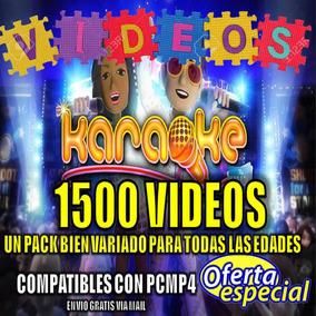 Musica Pack 1500 Videos Karaoke Cumpleaños Fiestas Eventos