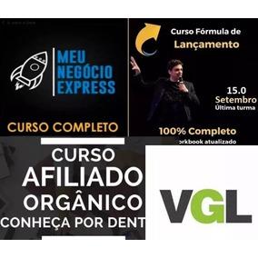Pacotão Formula Do Lançamento Afiliado Organico Vgl Express