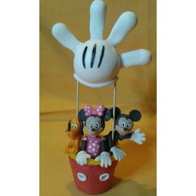 Adorno Torta Mickey Y Sus Amigos Porcelana Fria