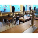 Barra De Cerveza Artesanal/ Equipo De Frio/ 4 Bocas/ Regulad