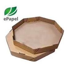 Forro De Caixa De Pizza N.35 Octogonal Papel Manteiga C/1600