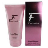 F Para Fascinating De Salvatore Ferragamo, 5 Oz Amplificado