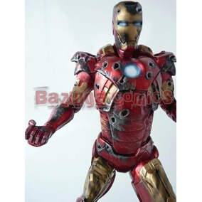 Boneco Homem De Ferro Vingadores - Armadura Danificada