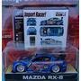Juguete Jada Import Racer 1:64 Scale #053 Blue Mazda Rx-8 M