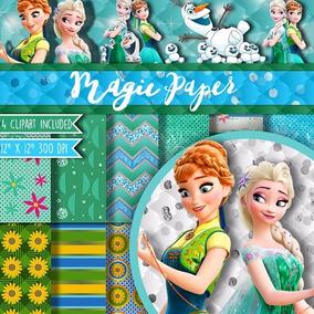 Kit Scrapbook Digital Frozen Fever - Envio Rapido
