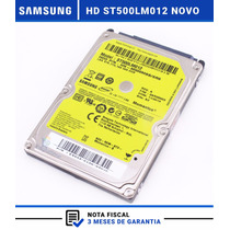 Hd Notebook 500gb Sata St500lm012 Samsung Rv411 Rv415 + Nf