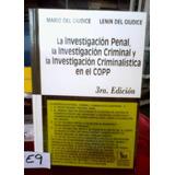 La Investigacion Penal Criminal Criminalistica Copp
