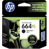 Cartucho Original Hp 664xl Negro Caja Garantia Hp Argentina