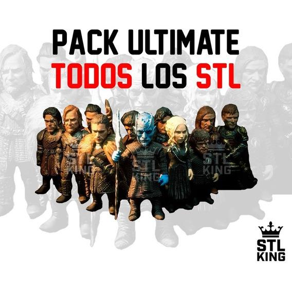 Pack Ultimate - Todos Los Stl Para Impresiòn 3d