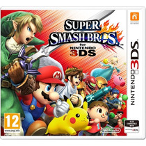 Super Smash Bross Mídia Física Lacrado Novo 3ds