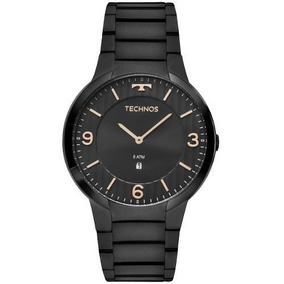 Relógios Masculinos Technos Preto Slim Gl15am4p Original