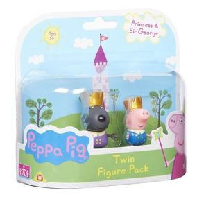 Paquete De Dos Figuras Peppa Princesa Princesa 2