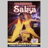 Aprendiendo A Bailar Salsa Varios Interpretes Dvd Nuevo