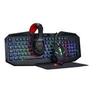 Kit Gamer 4 En 1 Teclado +mouse + Aur + Pad 403 - Noga