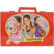Valija Juliana Tatuajes Tattoo Diseños Juguete Jul036 Full